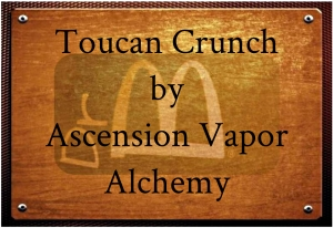 ascension toucan plaque