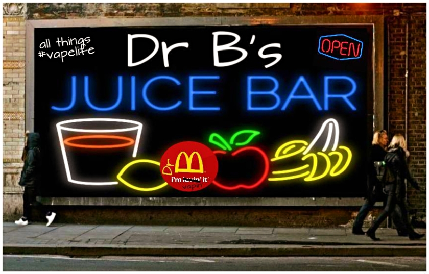 juice bar billboard