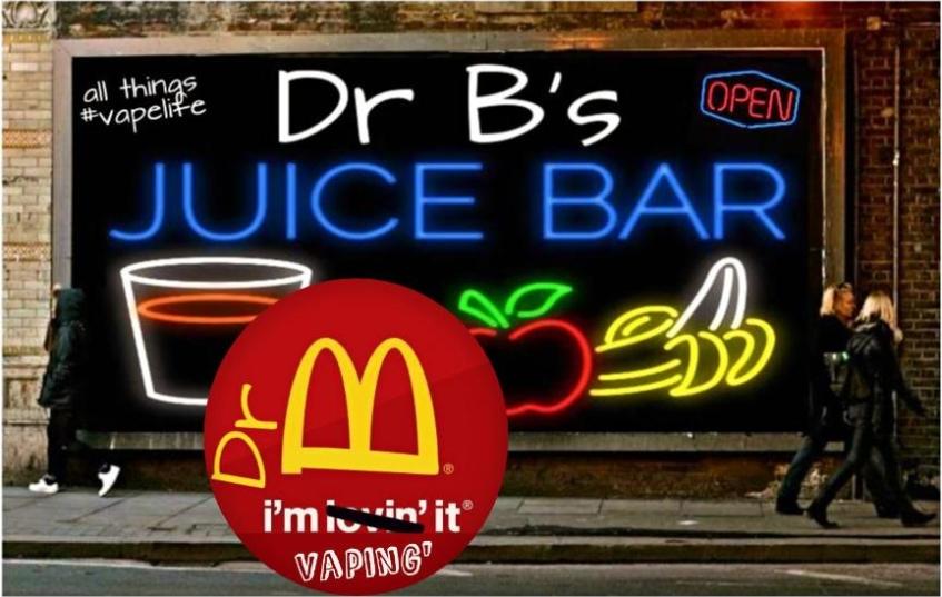 100% proof DR B JUICE