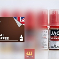 Real Coffee | UK Made by JAC Vapour