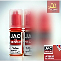 Toffee (VG) | UK Made by JAC Vapour