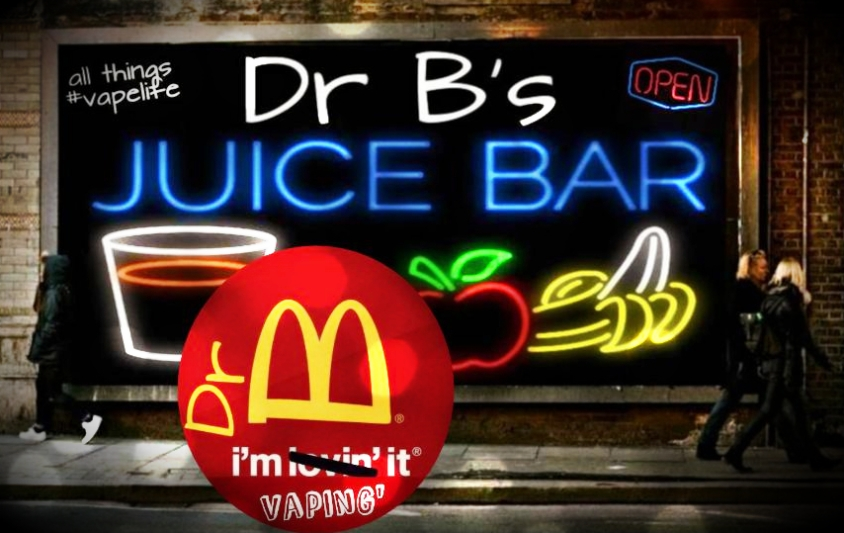 100% proof DR B JUICE
