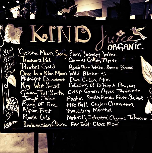 kind menu