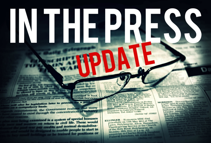 in the press UPDATE