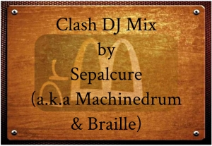 clash mix master plaque