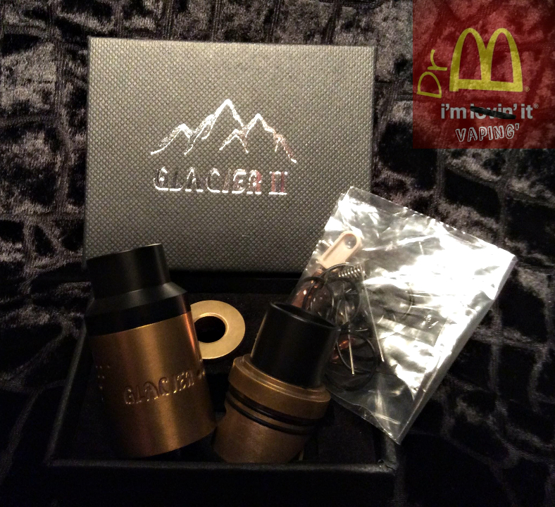 glacier rda open box