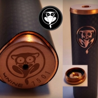 Ralfy's Reviews | 4nine Copper and Carbon Fibre Mech' Mod by Tarsius Customs (Clone Review)