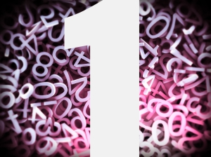 number background 1