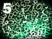 number background 5