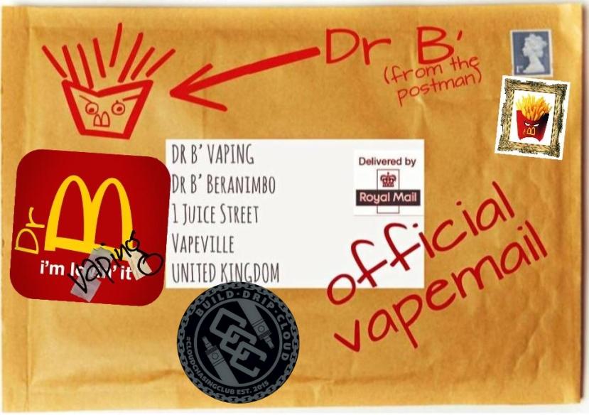 ccc vapemail envelope