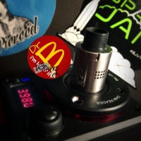 VAPE-ware SHED | Mini Buddha RDA by Vaperz Cloud (full review)