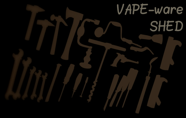 new vape-ware shed