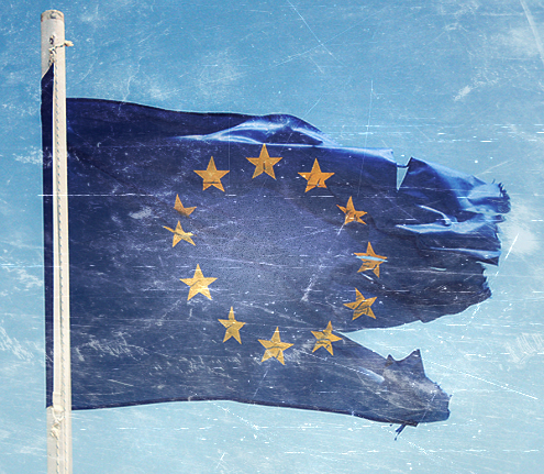 EU-flag-torn